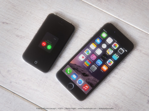 Apple iPhone 6 als Klapphandy © Martin Hajek