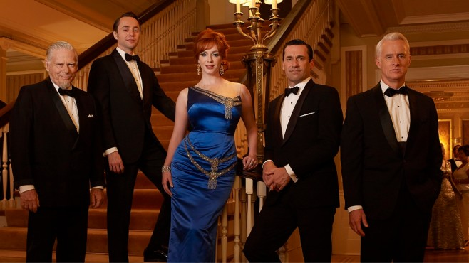 Mad Men: Jon Hamm, Cast © Lions Gate Television