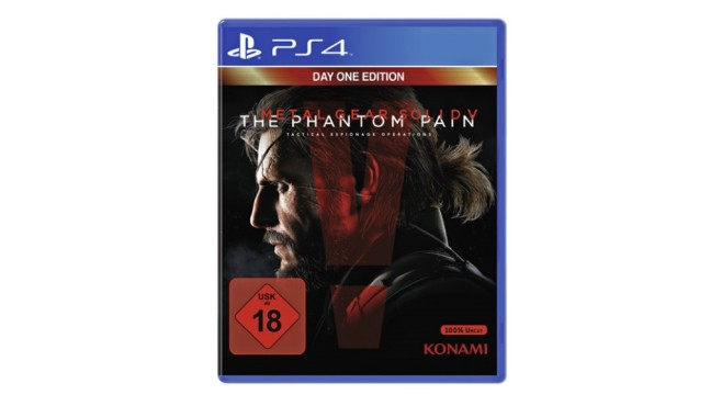 PS4 Metal Gear Solid V - The Phantom Pain (Day One) © Konami