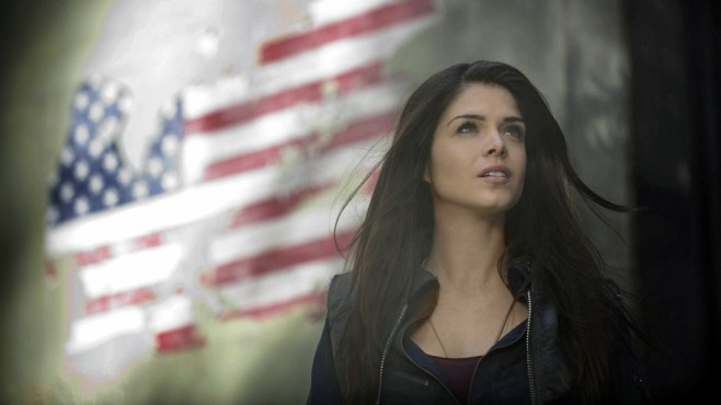 The 100: Marie Avgeropoulos © Warner Bros. Entertainment Inc.