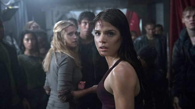 The 100: Marie Avgeropoulos, Cast © Warner Bros. Entertainment Inc.