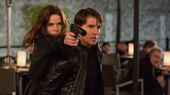 "Tom Cruise in ""Mission: Impossible - Rogue Nation"" © Paramount Pictures"