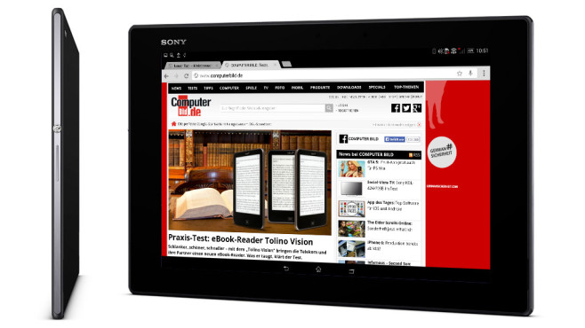 Sony Xperia Z2 Tablet 16GB LTE schwarz © Sony