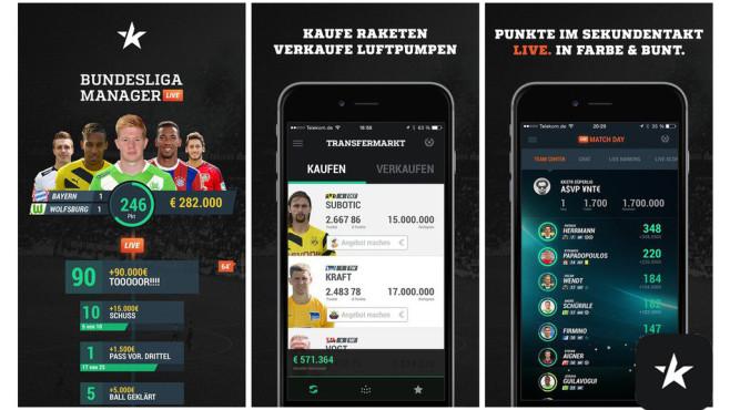 Bundesliga Manager ©KKSTR GmbH