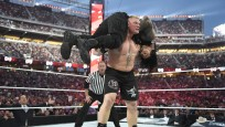 WrestleMania 31: Brock Lesnar, Roman Reigns © WWE, Inc.