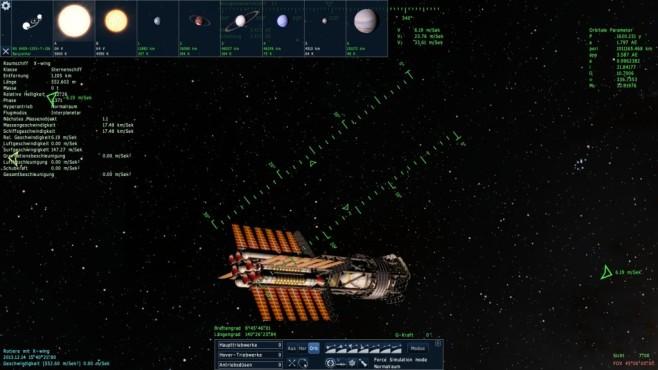 Space Engine: Sattelit ©Vladimir Romanyuk