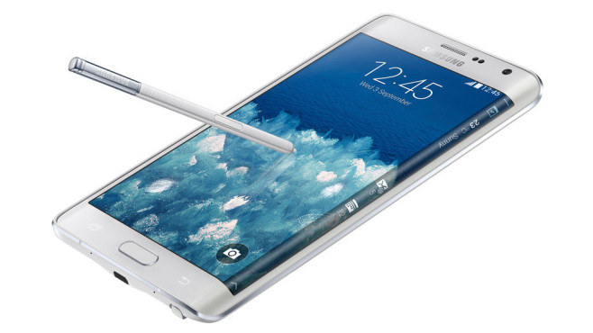 Samsung Galaxy Note Edge © Samsung