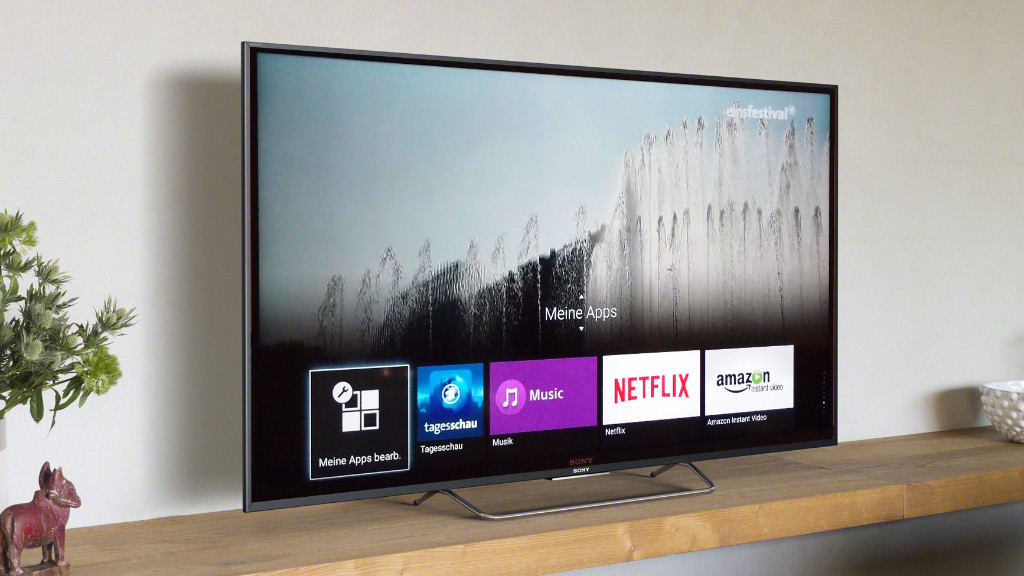 sony android tv w805c im test audio video foto bild. Black Bedroom Furniture Sets. Home Design Ideas
