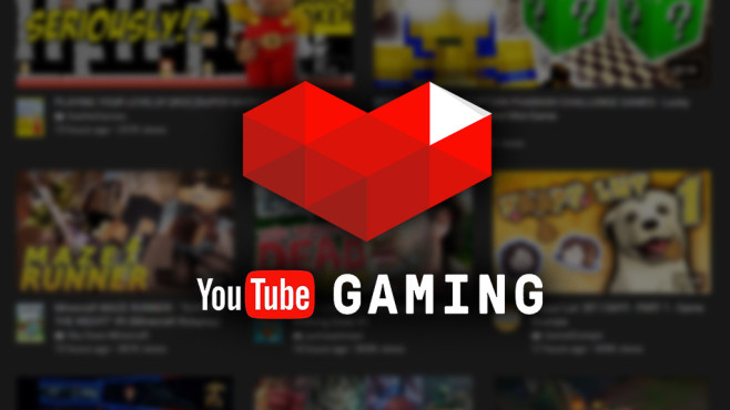 YouTube Gaming © YouTube Gaming