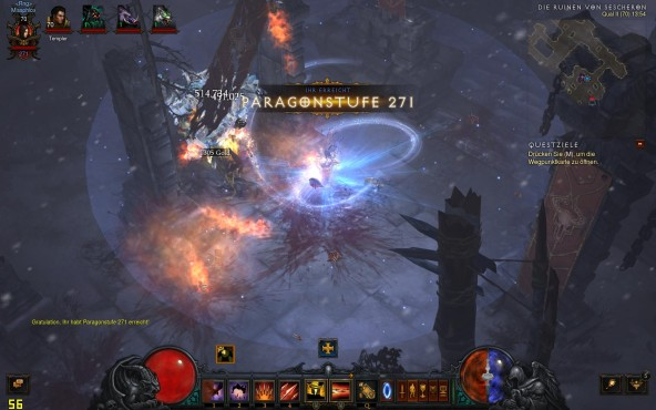 Diablo 3 Paragon-Level © Blizzard