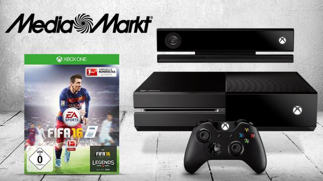 Microsoft Xbox One 500 GB + FIFA 16 ©Microsoft