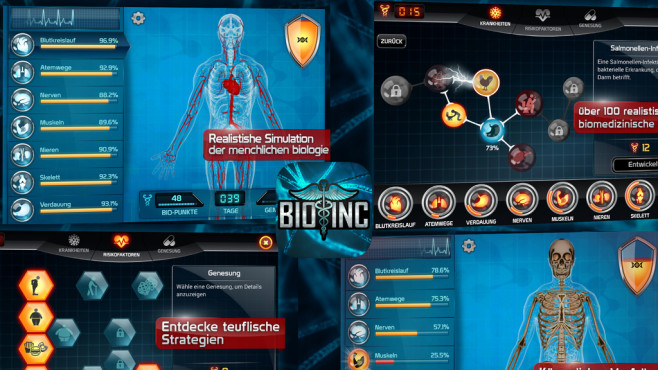 Bio Inc. – Biomedical Game © DryGin Studios