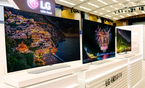 lg oled fernseher mit 4k und hdr audio video foto bild. Black Bedroom Furniture Sets. Home Design Ideas