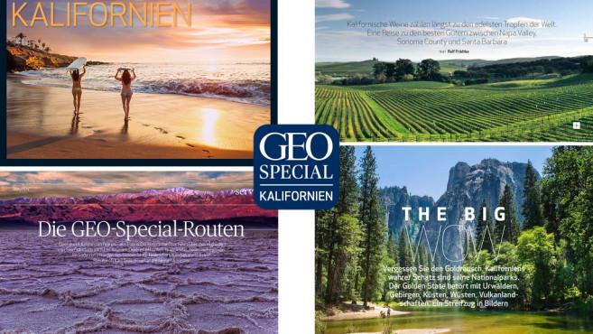Geo Special Kalifornien ©GEO, Gruner + Jahr GmbH & Co KG