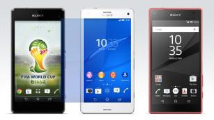 Sony Xperia Z1 Compact, Xperia Z3 Compact, Xperia Z5 Compact ©Sony, COMPUTER BILD