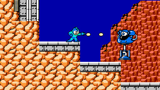 Mega Man - Big Eye © Capcom