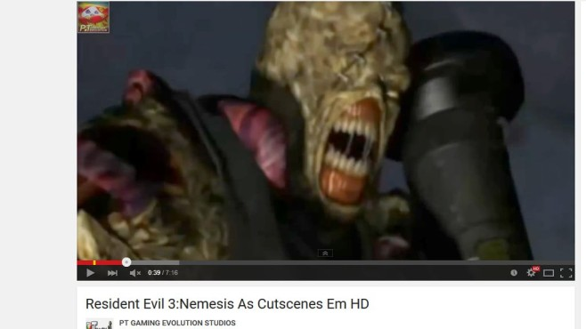 Resident Evil 3 – Nemesis © Capcom / YouTube / PT GAMING EVOLUTION STUDIOS