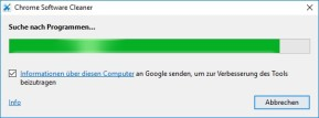 Chrome Cleanup Tool (Chrome Software Cleaner)