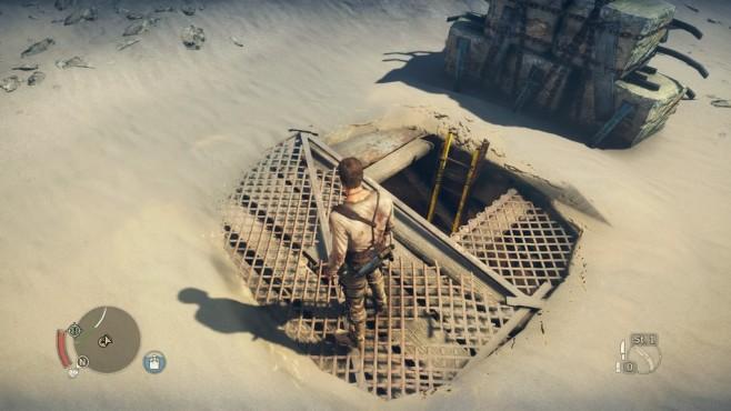Mad Max: Öde in der Einöde Das Ödland ist voller Bunker und Verstecke. ©Ineractive