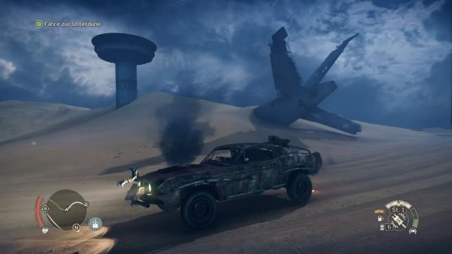 Mad Max: Öde in der Einöde Überreste aus einer besseren Zeit. ©Warner Bros. Ineractive