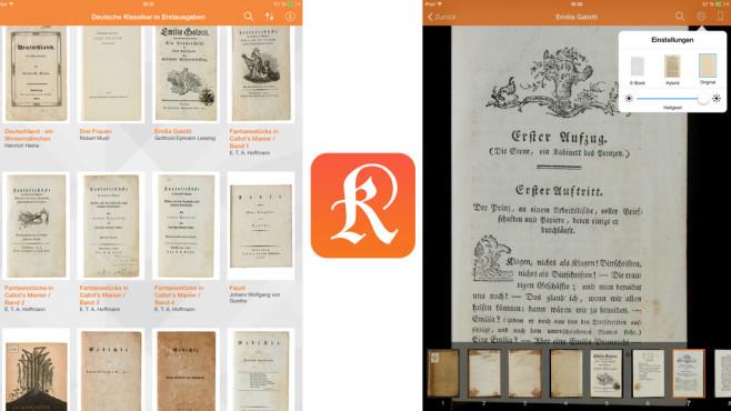 Deutsche Klassiker in Erstausgaben ©Bayerische Staatsbibliothek