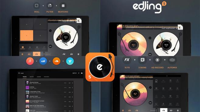 Edjing – DJ Musik Mixer Konsole ©DJit