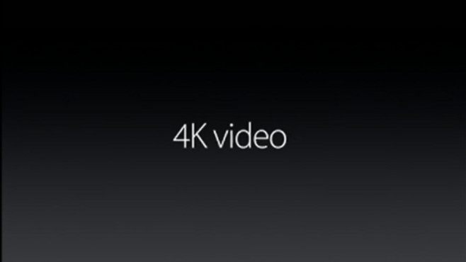 4K-Videos per iPhone © Apple