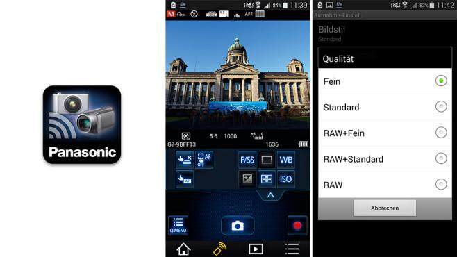 Panasonic Image App ©COMPUTER BILD