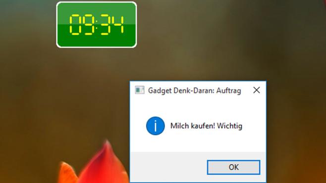 8GadgetPack (20): Denk-Daran ©COMPUTER BILD