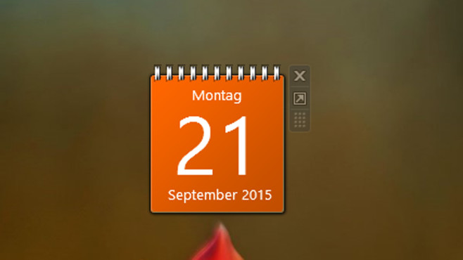 8GadgetPack (23): Kalender ©COMPUTER BILD