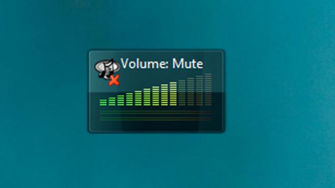 8GadgetPack (28): Volume Control ©COMPUTER BILD