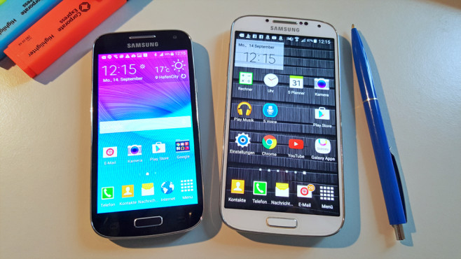 Samsung Galaxy S4 Mini ©COMPUTER BILD