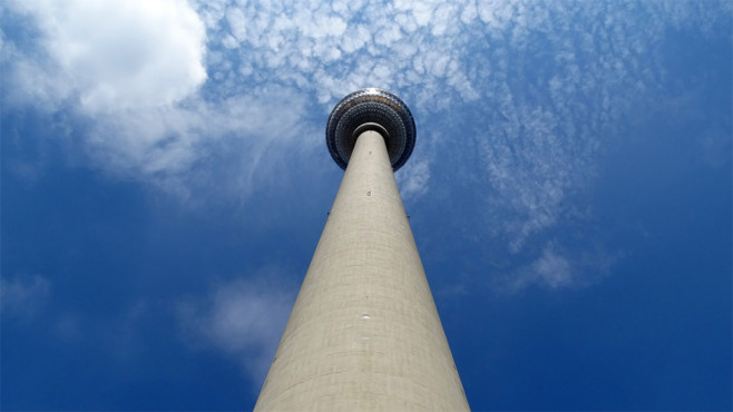 Berlin, Fernsehturm-Alexanderplatz ©fiffi132