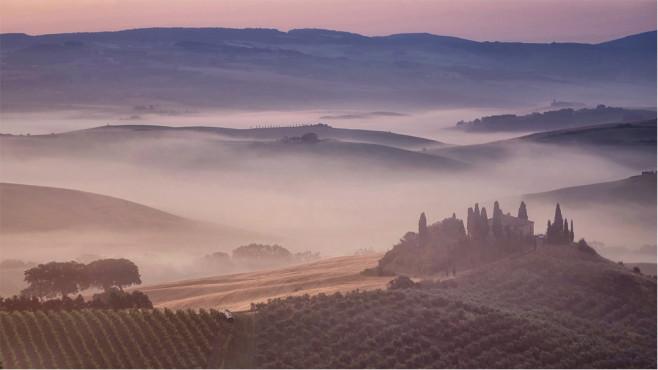 Magische Landschaft - Toskana ©nobile