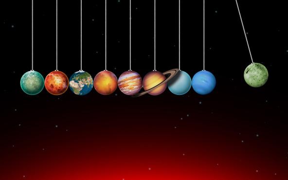 Newton Planets ©weitgeist