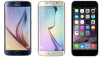 iPhone 6 oder Galaxy S6 mit Allnet-Flat © Samsung, Apple