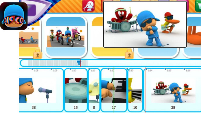 Pocoyo Disco © Zinkia Entertainment, S.A.