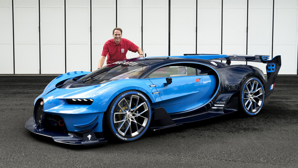 bugatti vision gran turismo blaues wunder computer bild. Black Bedroom Furniture Sets. Home Design Ideas