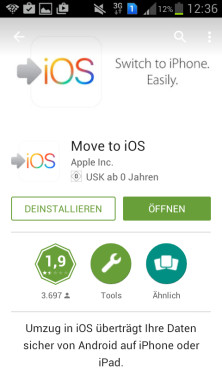 Download aus dem Play Store © COMPUTER BILD