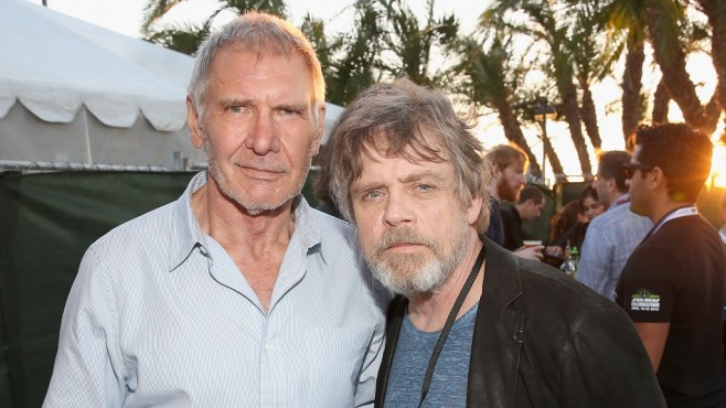 San Diego Comic-Con 2015: Harrison Ford, Mark Hamill © Jesse Grant/Getty Images für Disney