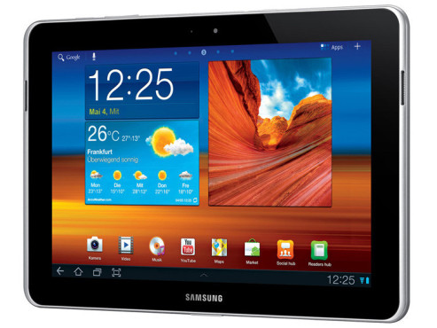 Samsung Galaxy Tab 10.1N 16GB 3G ©COMPUTER BILD