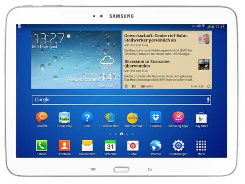 Samsung Galaxy Tab 3 10.1 ©COMPUTER BILD