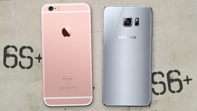 Vergleich iphone 6 und samsung galaxy 6