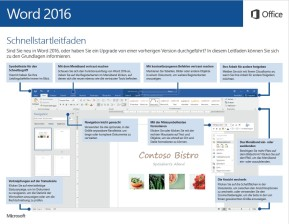 Microsoft Office 2016 (Schnellstart-Handbuch als PDF)
