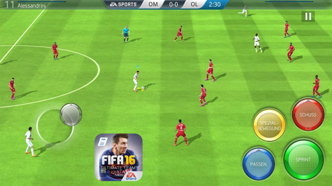 FIFA 16 Ultimate Team © EA