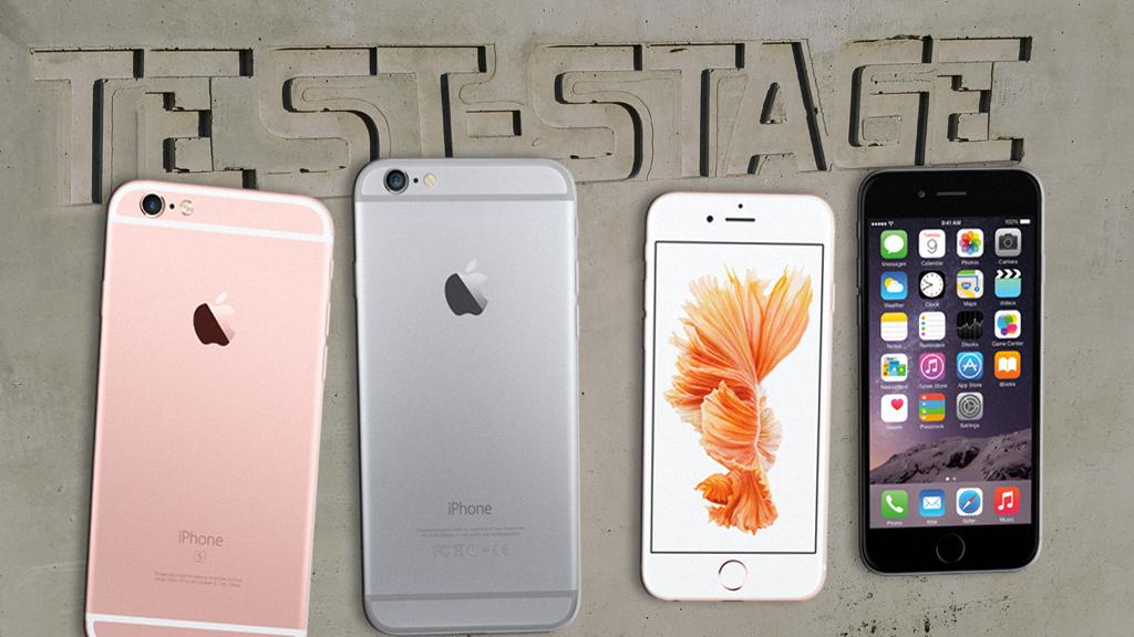 handy vergleich iphone 6s und iphone 8