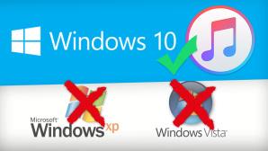 Kein iTunes-Update für Windows XP und Vista ©Apple, Microsoft, Montage: COMPUTER BILD