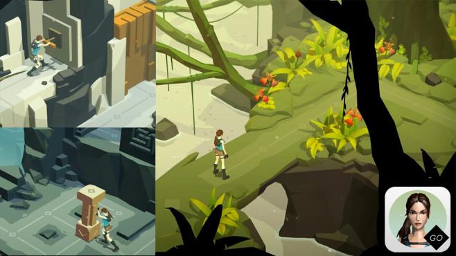 Lara Croft Go ©Square Enix