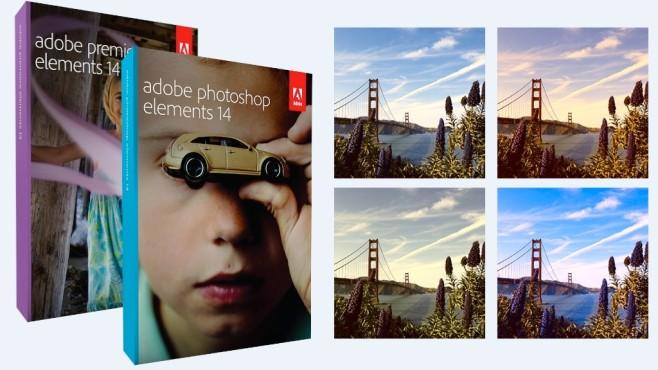 Adobe Photoshop Elements und Premiere Elements ©Adobe, Montage: COMPUTER BILD