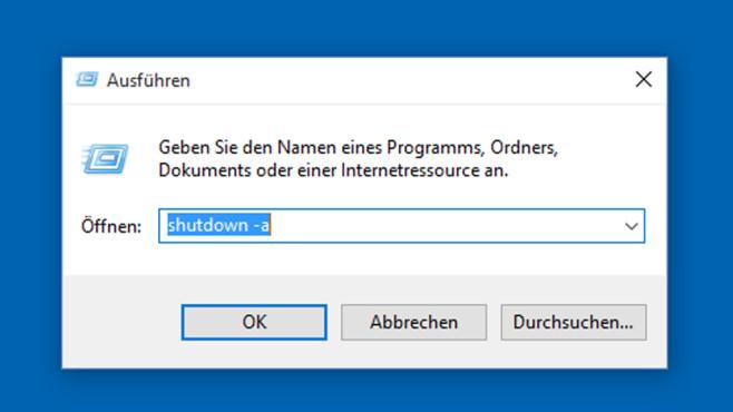Windows + R: Ausführen-Dialog aufrufen ©COMPUTER BILD